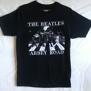 The Beatles Abbey Road Black Tee Shirt M